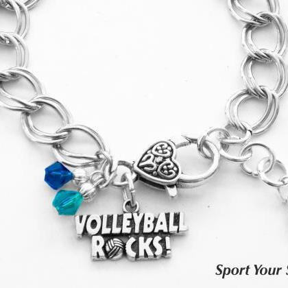 Personalized, Volleyball Bracelet, ..